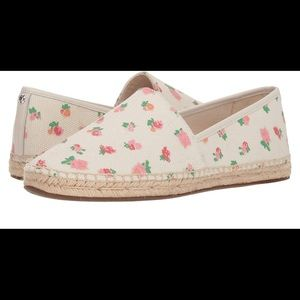 Brand New & Never Used Coach Canvas Floral Shoes